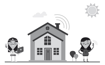 自宅のWi-Fiを互いに提供